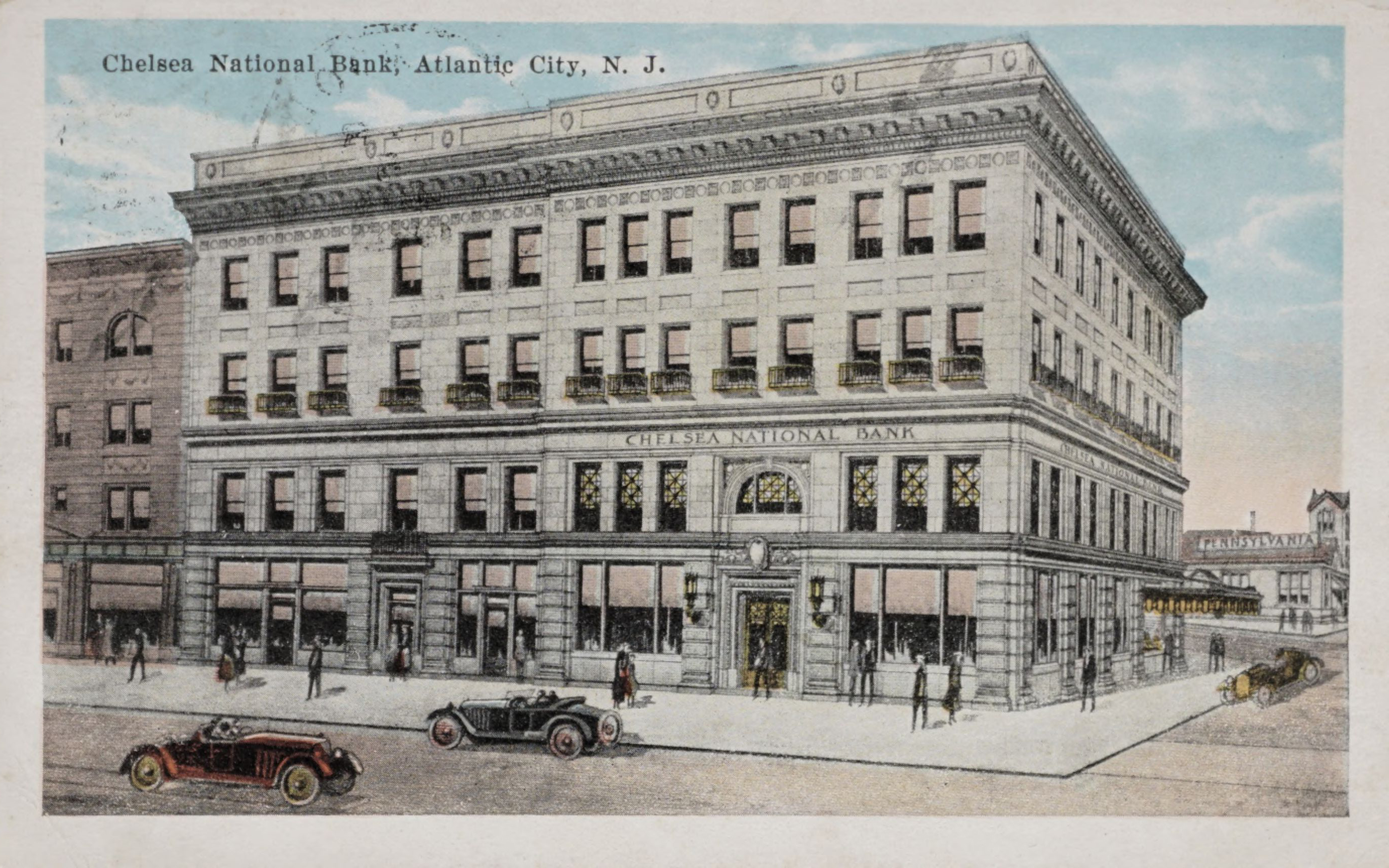Chelsea National Bank, Atlantic City, N.J.