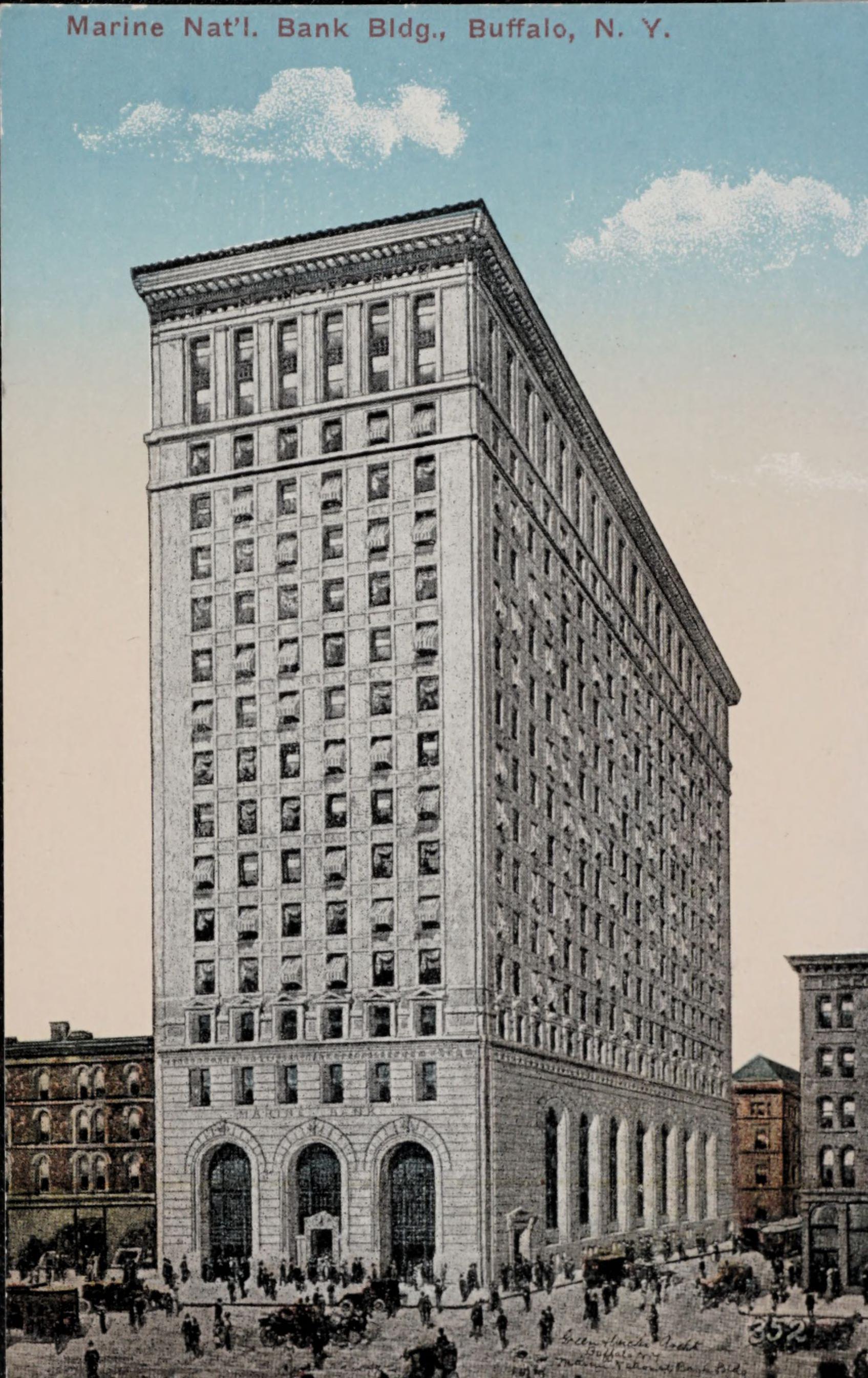 Marine Nat'l. Bank Bldg., Buffalo, N.Y.