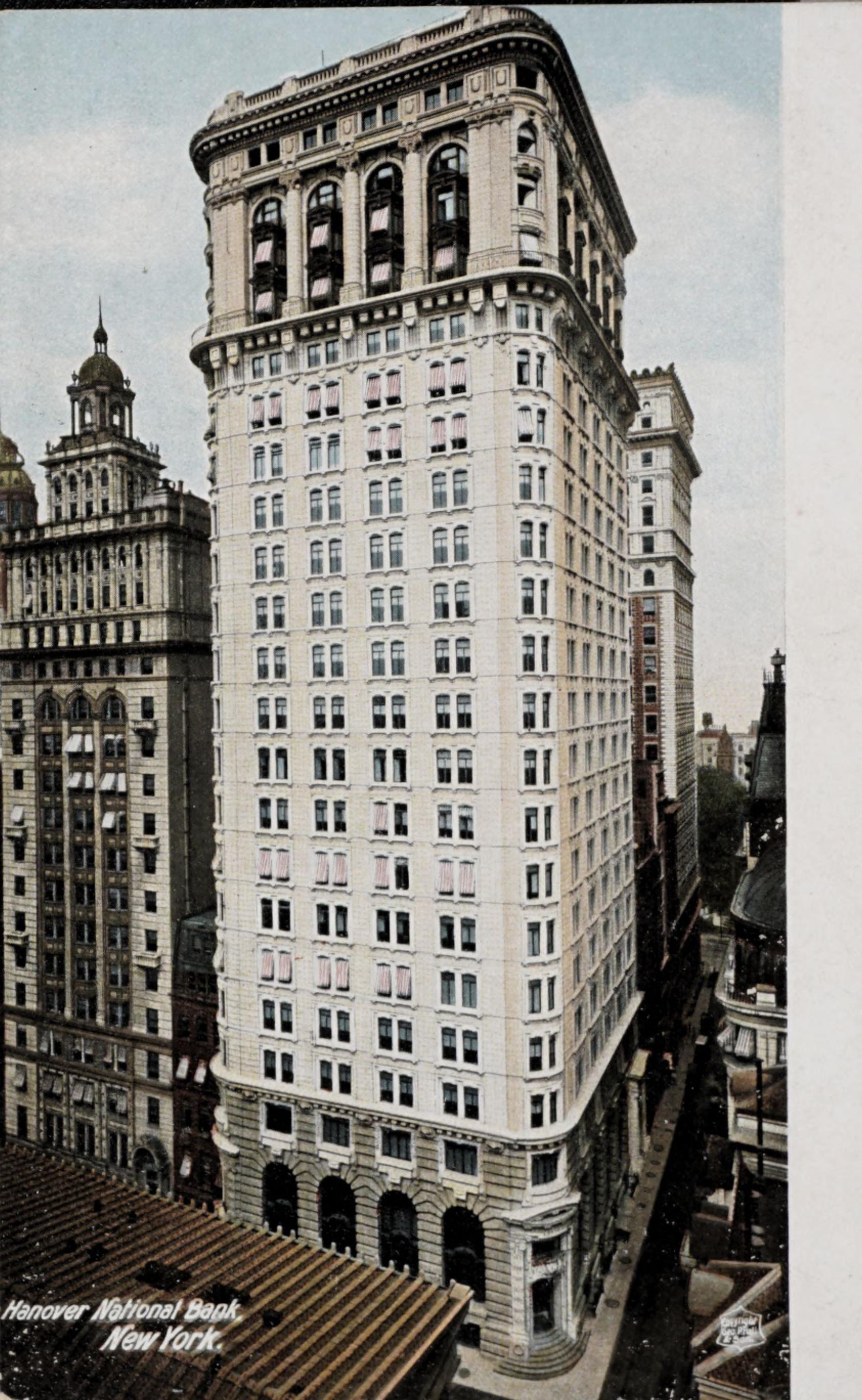 Hanover National Bank, New York