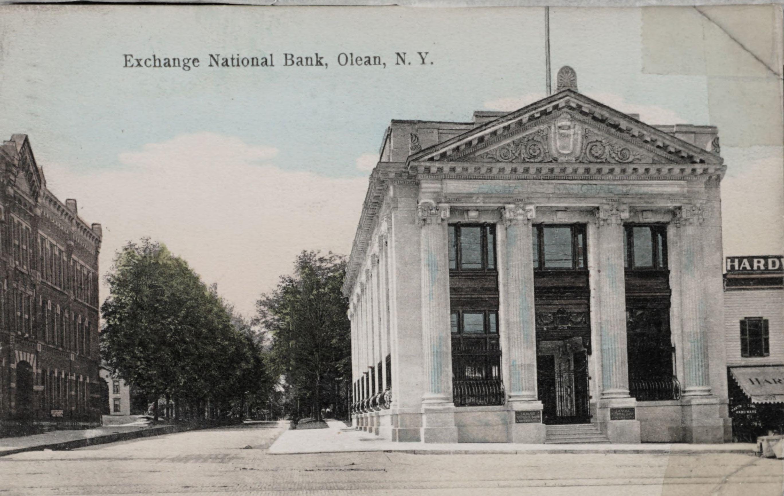 Exchange National Bank, Olean, N.Y.