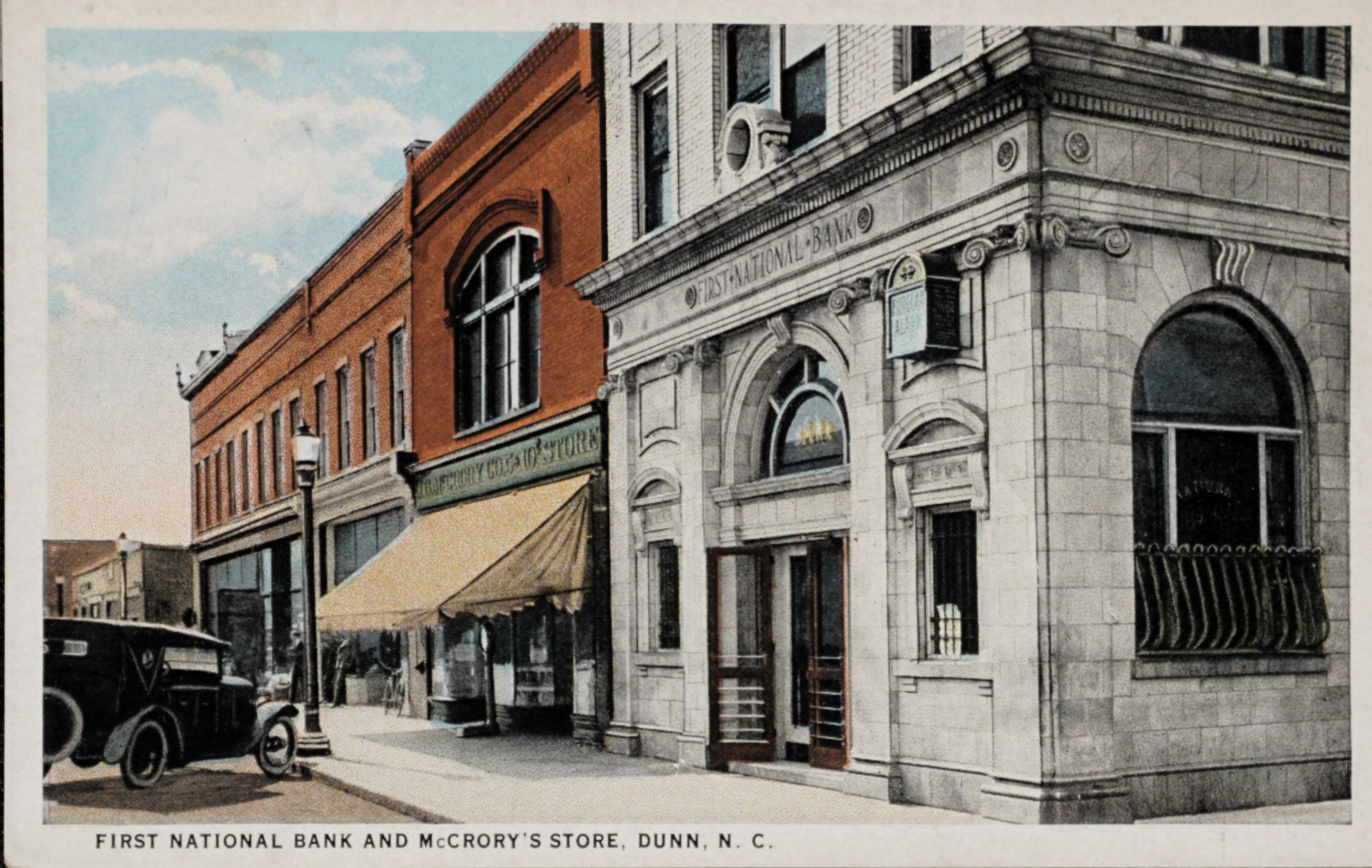 First National Bank and McCrory's Store, Dunn, N.C.