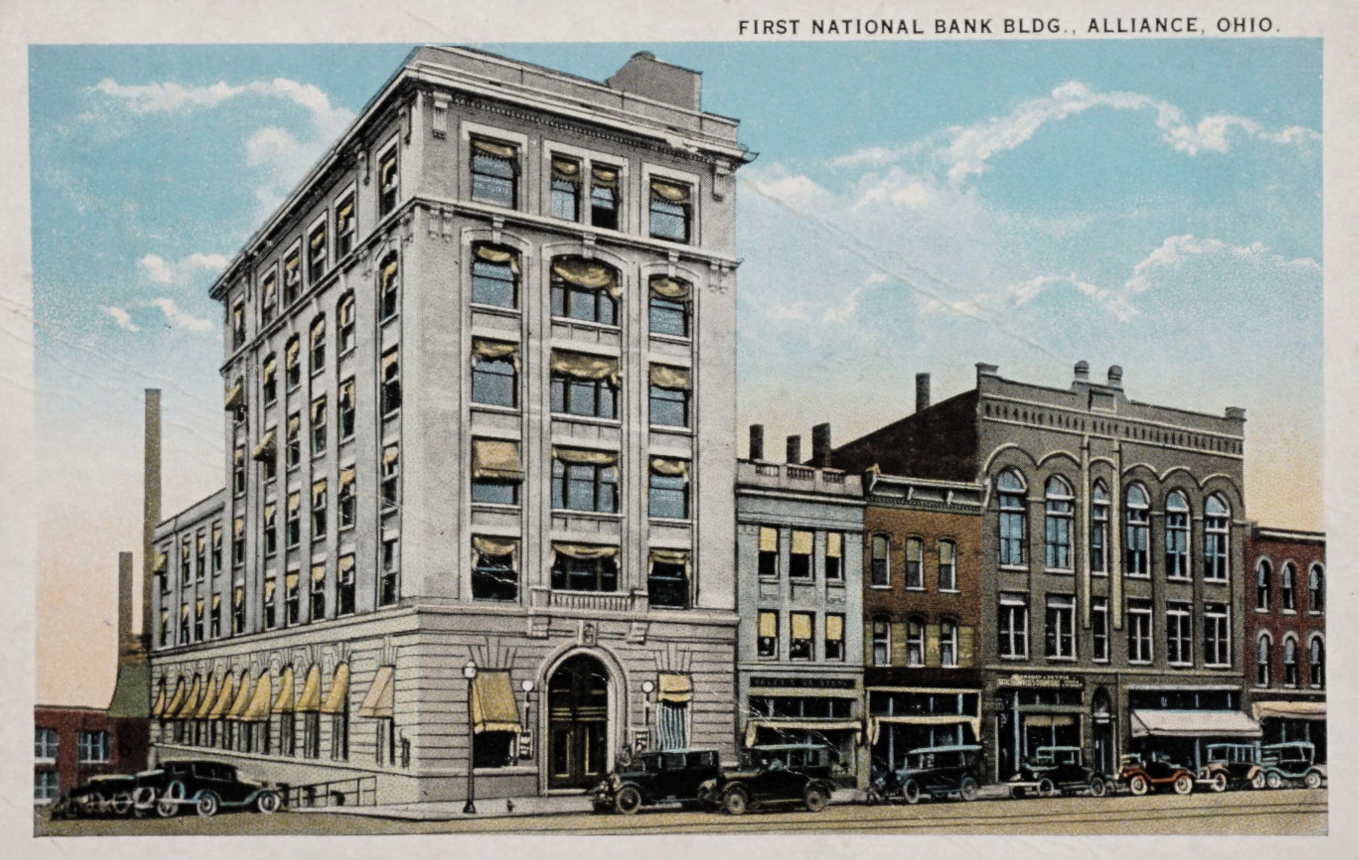 First National Bank Bldg., Alliance, Ohio
