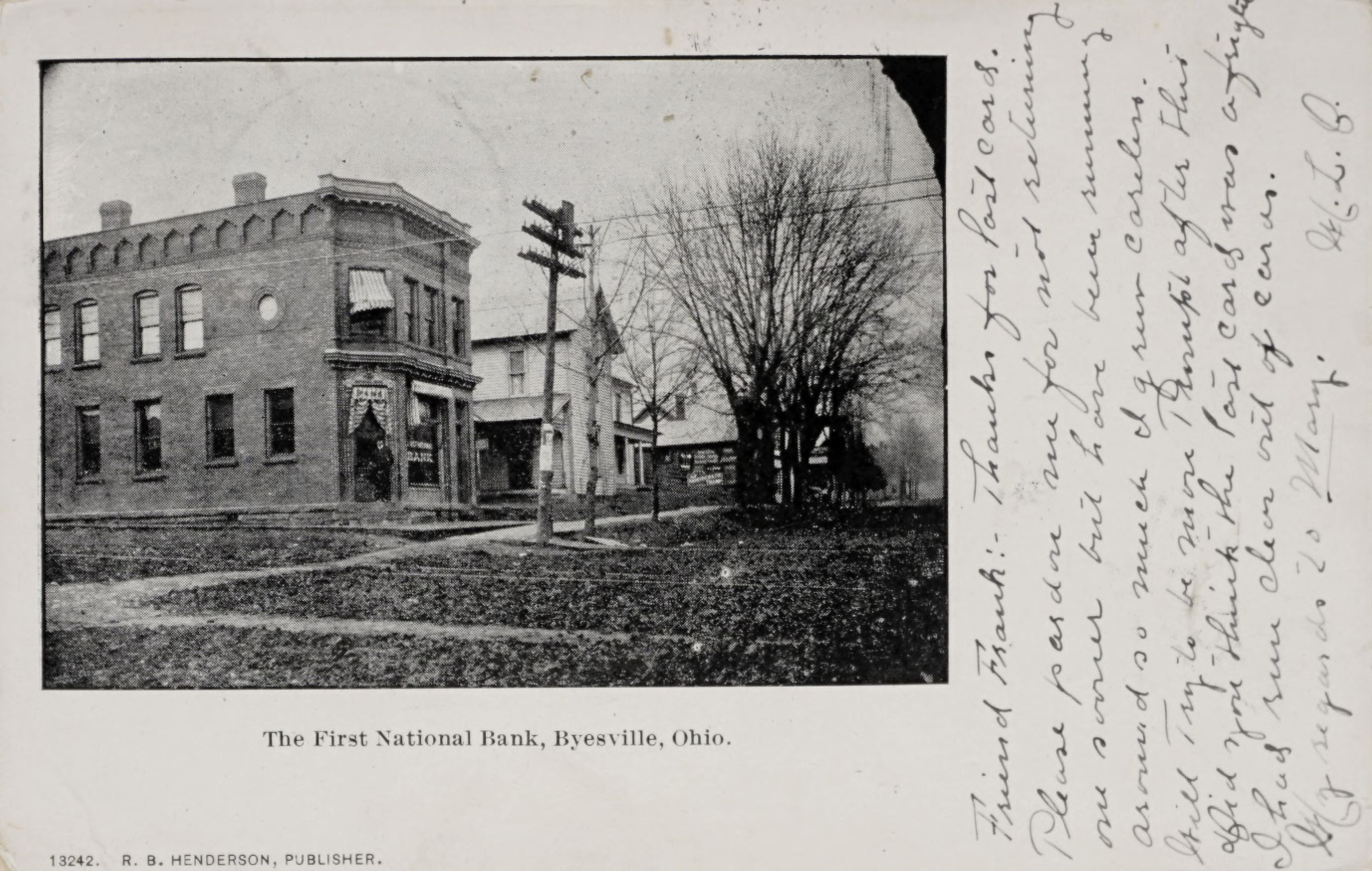 The First National Bank, Byesville, Ohio