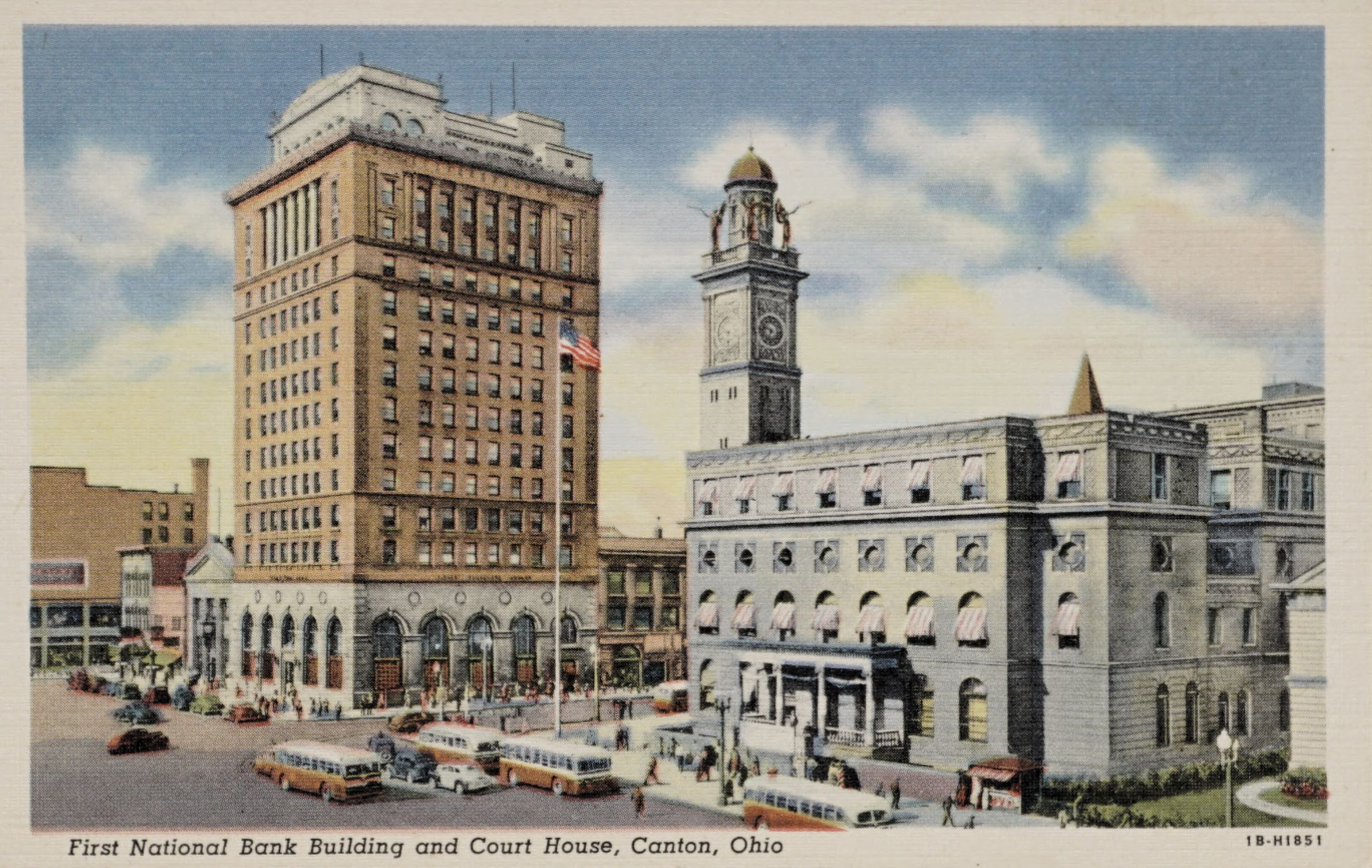 First National Bank Building and Court House, Canton, Ohio