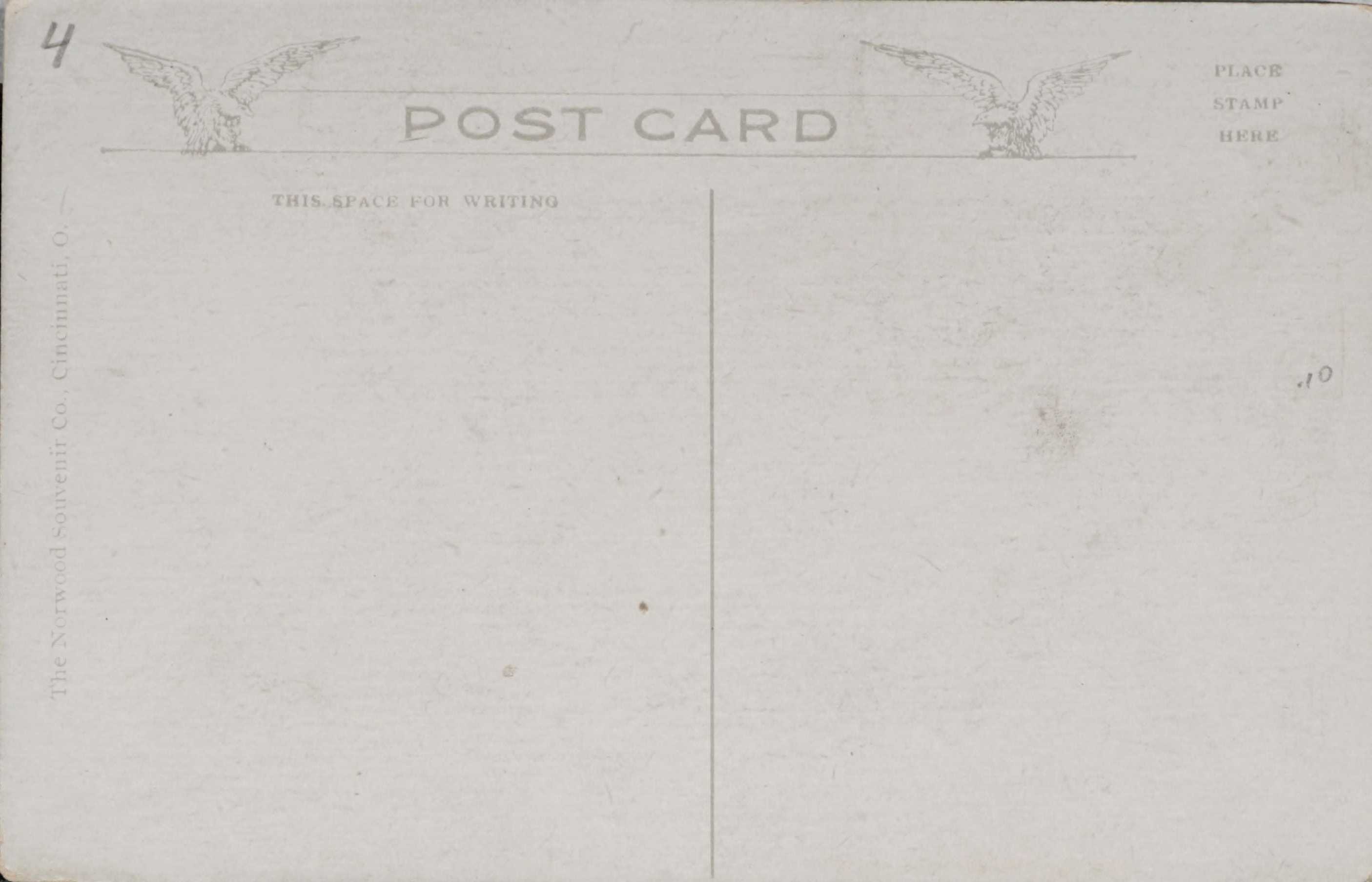 Reverse Side: First National Bank