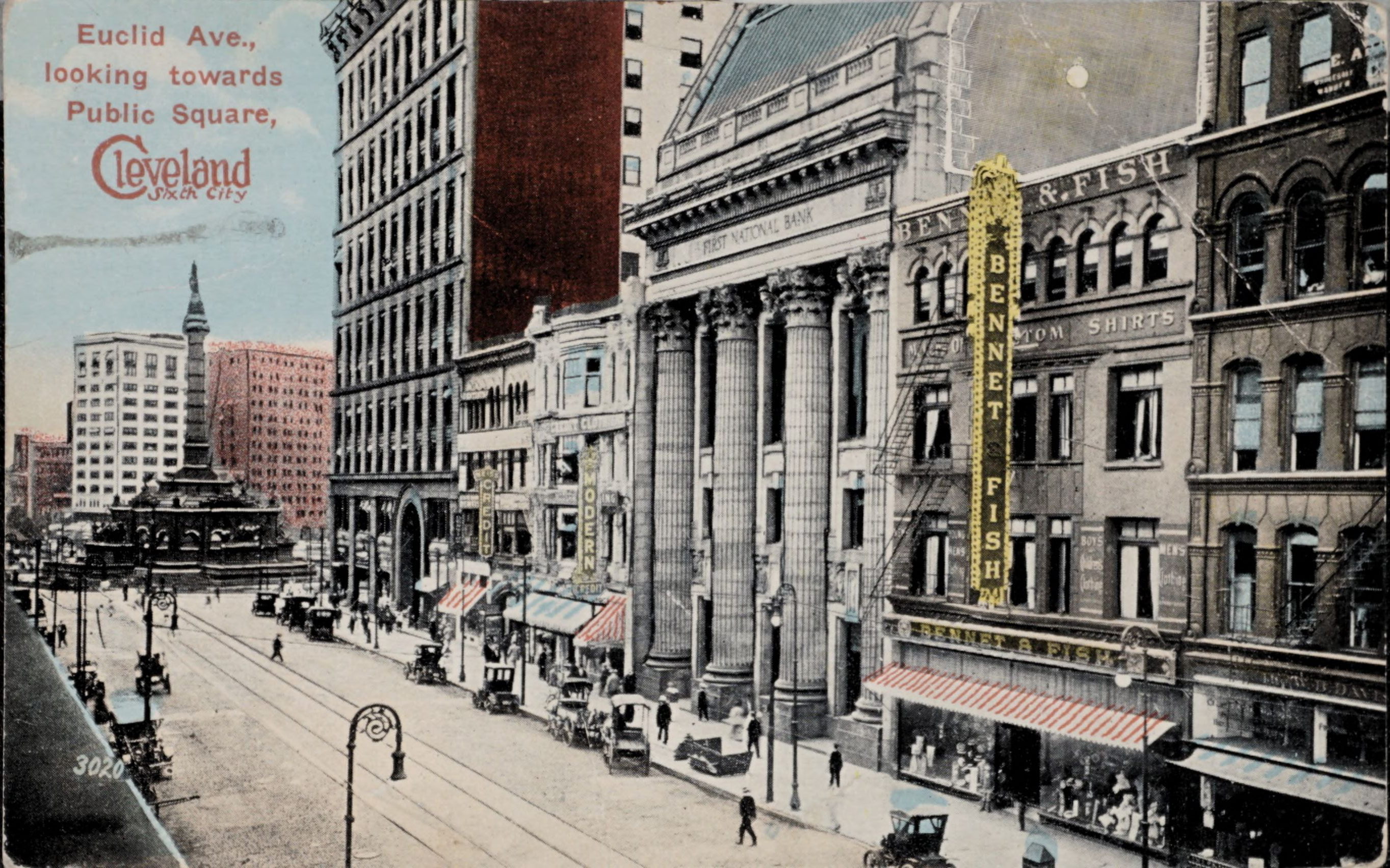 Cleveland Sixth City, Euclid Ave., looking towards Public Square
