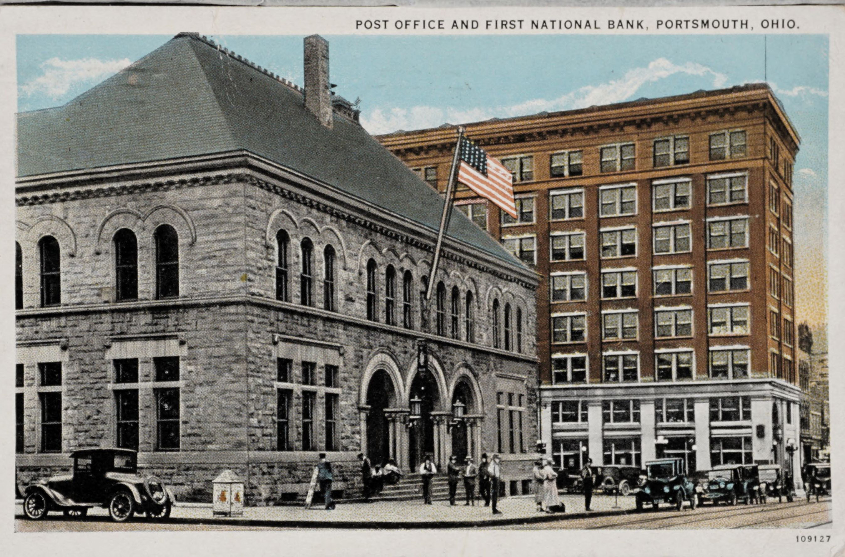 Post Office and First National Bank, Portsmouth, Ohio