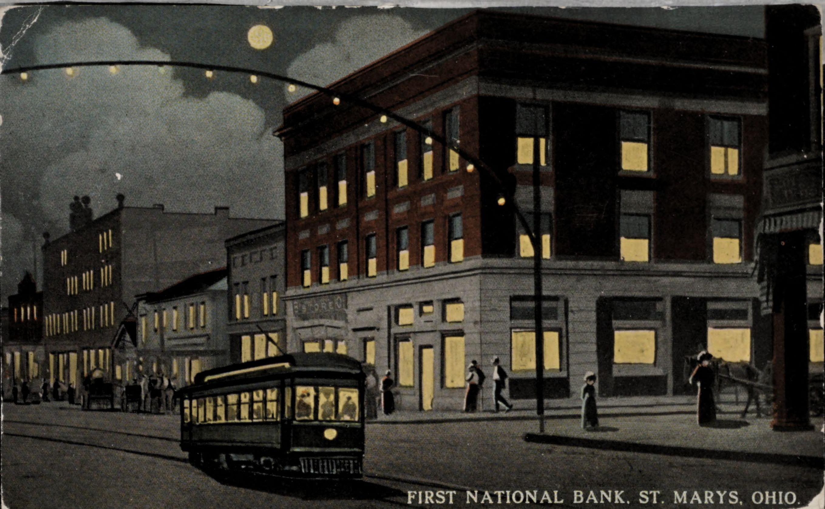 First National Bank, St. Marys, Ohio.