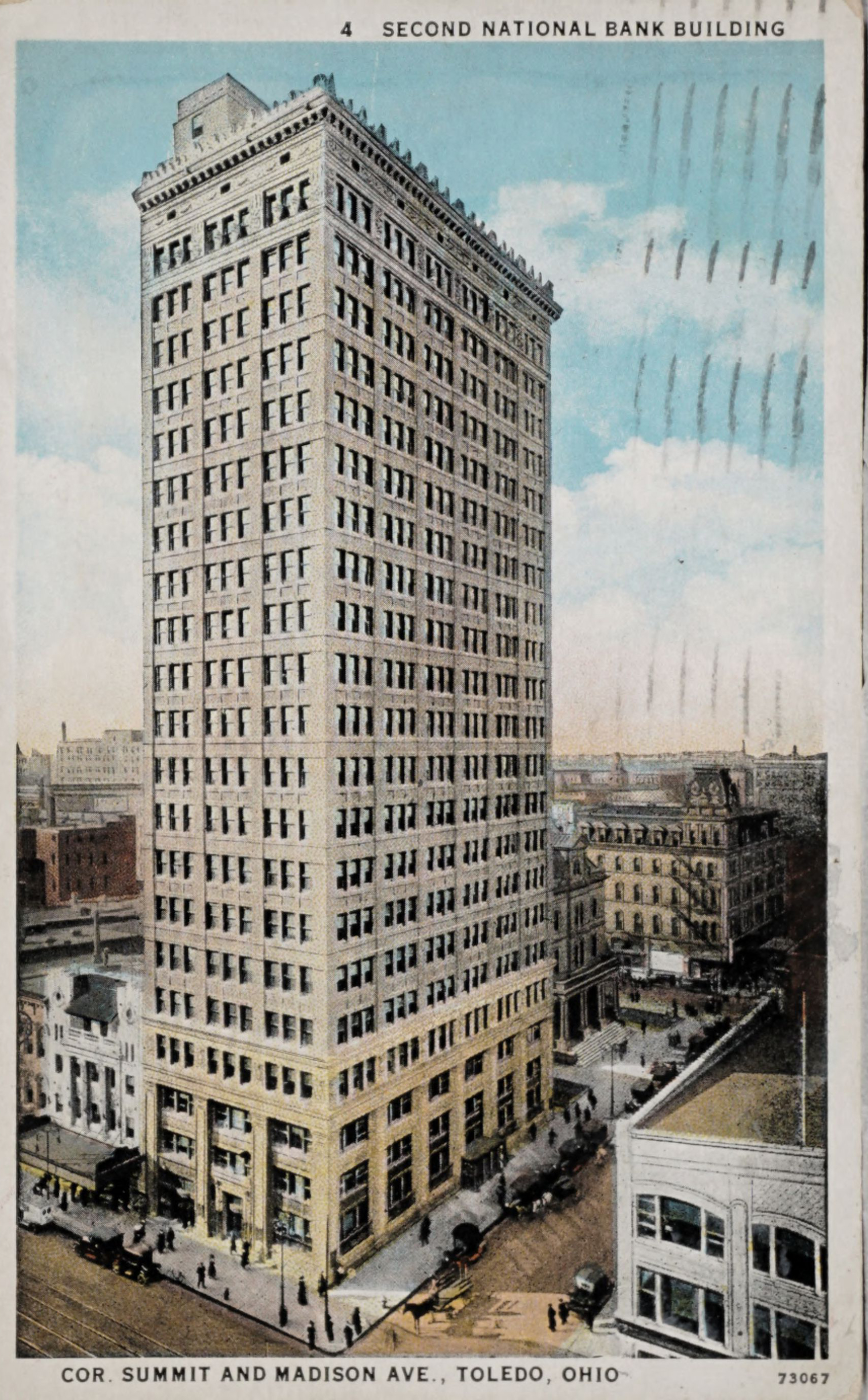 Second National Bank Building, Cor. Summit and Madison Aven., Toledo, Ohio 73067