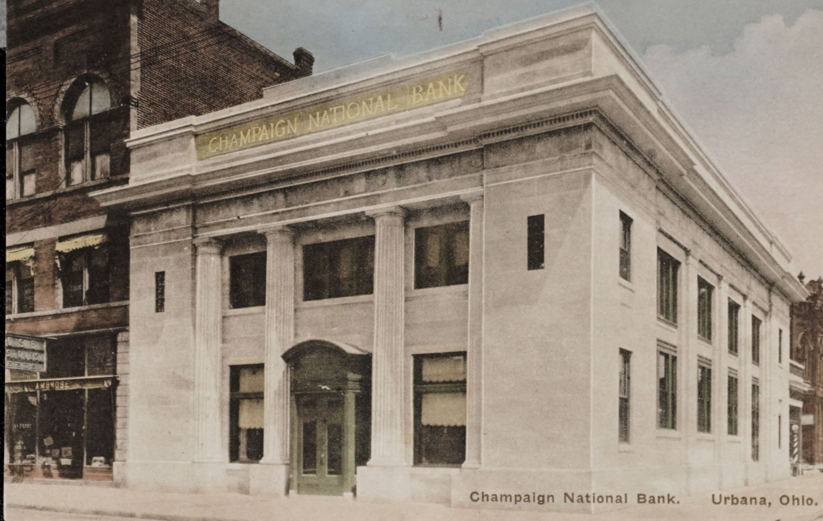 Champaign National Banl. Urbana, Ohio