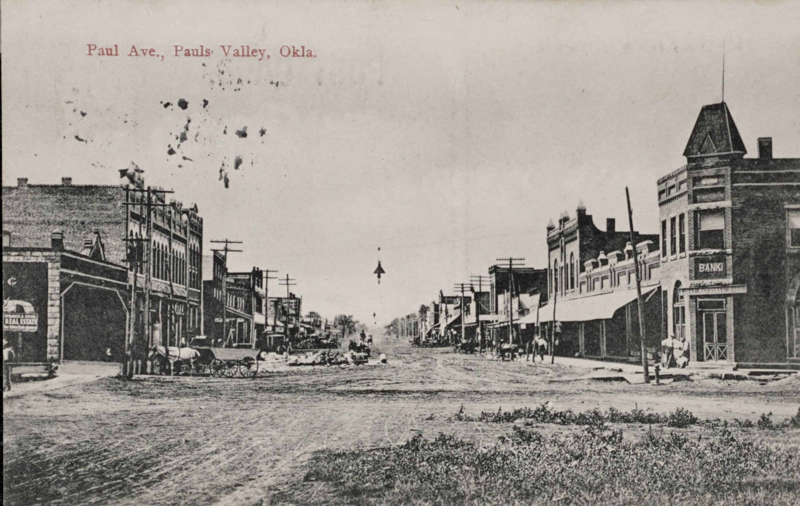 Paul Ave., Pauls Valley, Okla.