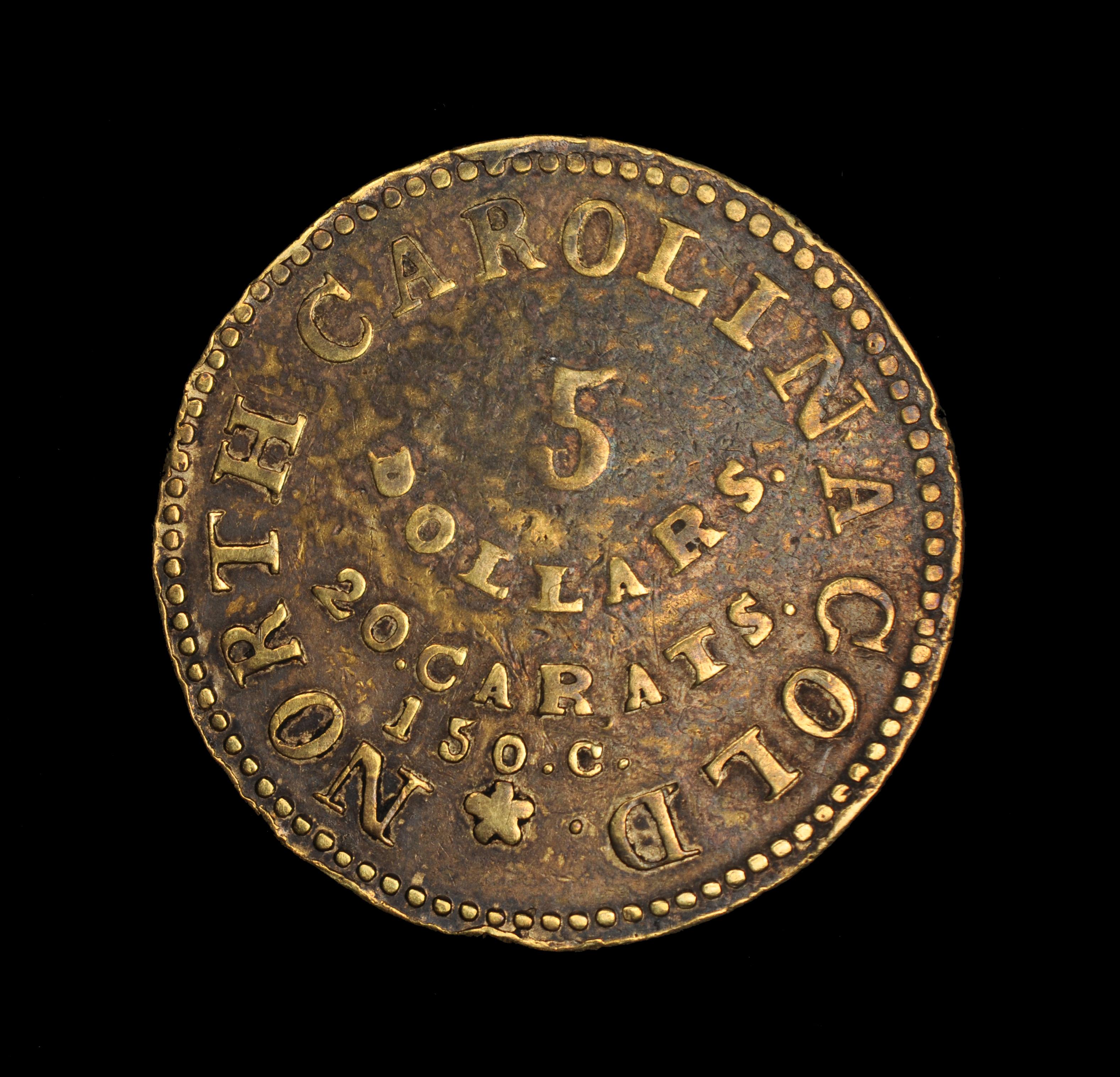 C. BECHTLER $5 (Kagin-15)