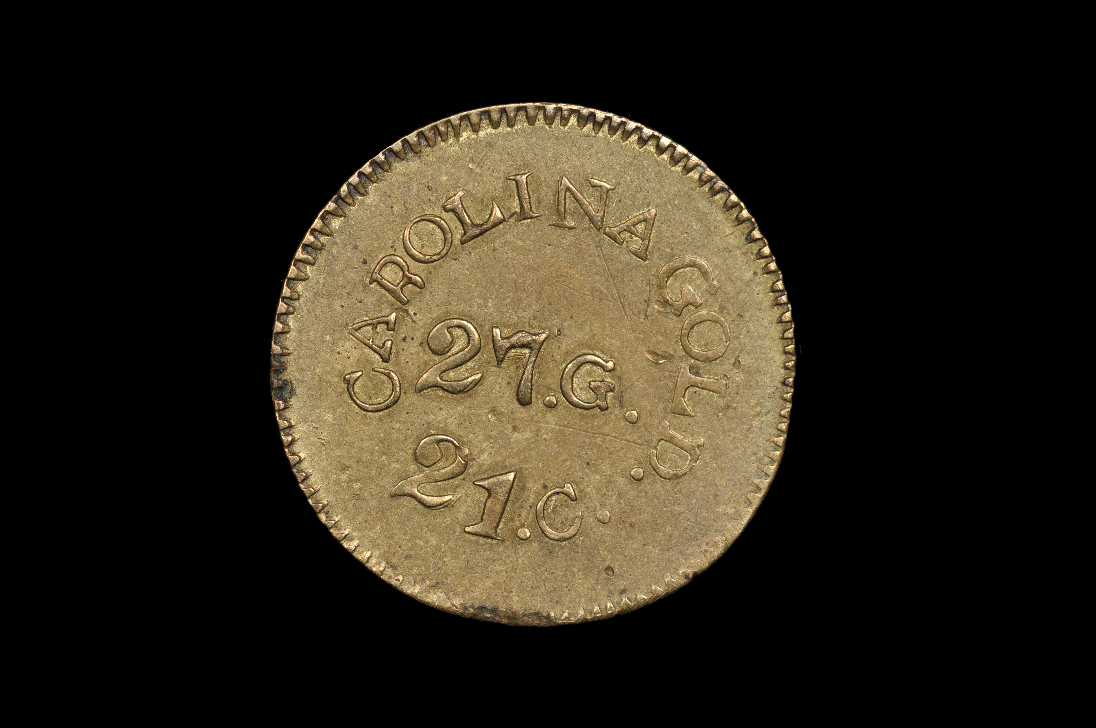 (1842) A. BECHTLER $1                          (Contemporary counterfeit)