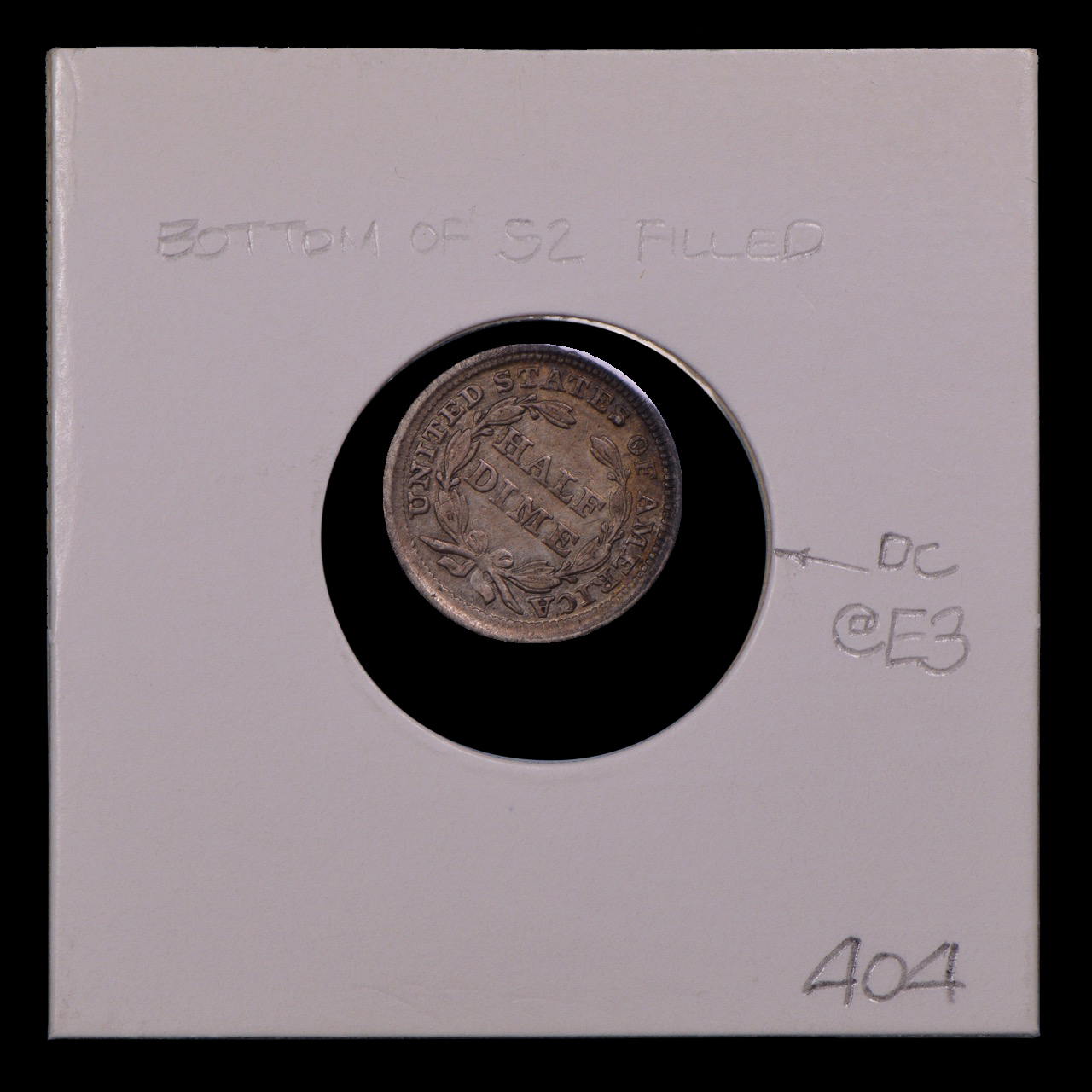 1857, V-5, S2 Filled