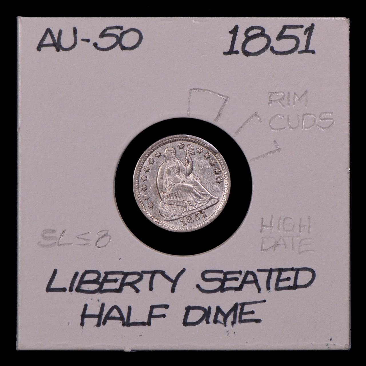 1851, Obverse Rim Cuds