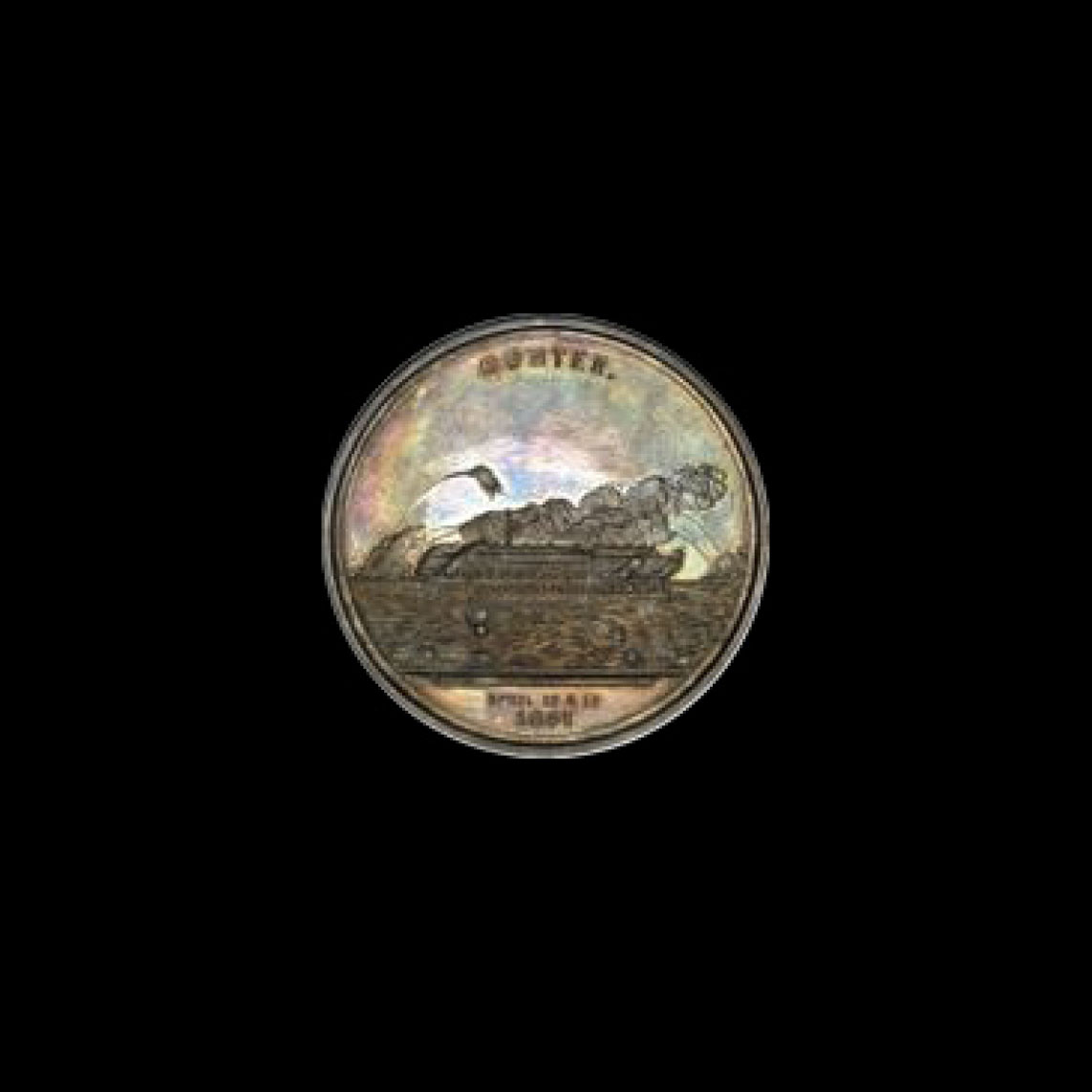 1861 Fort Sumter Major Anderson Silver Medal