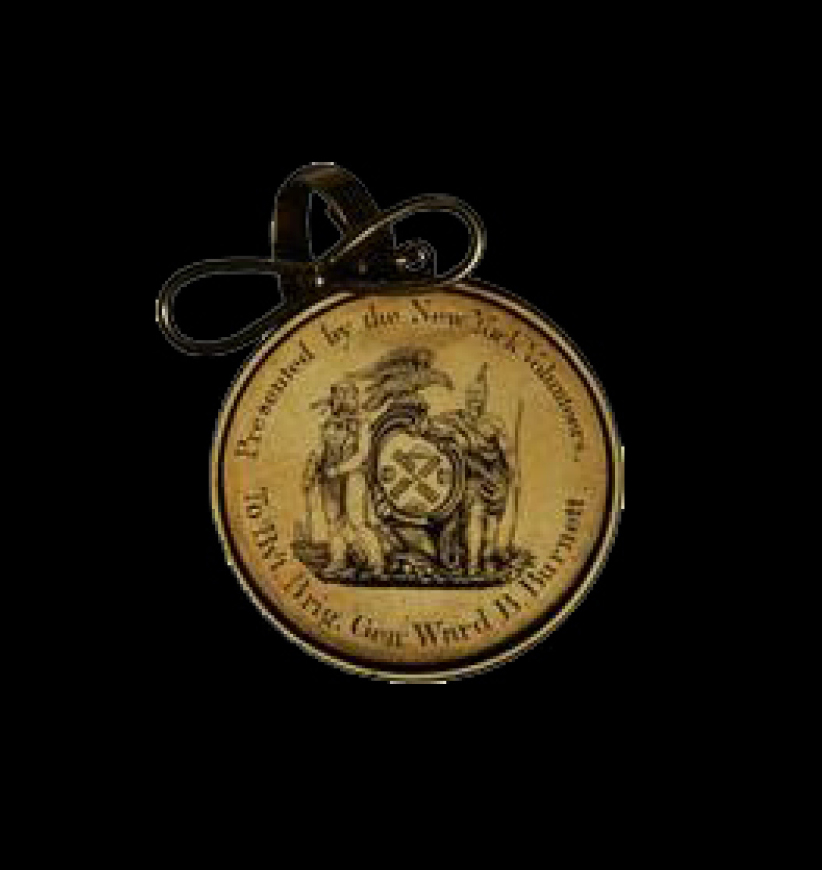 New York Volunteers Mexican-American War Award Medal