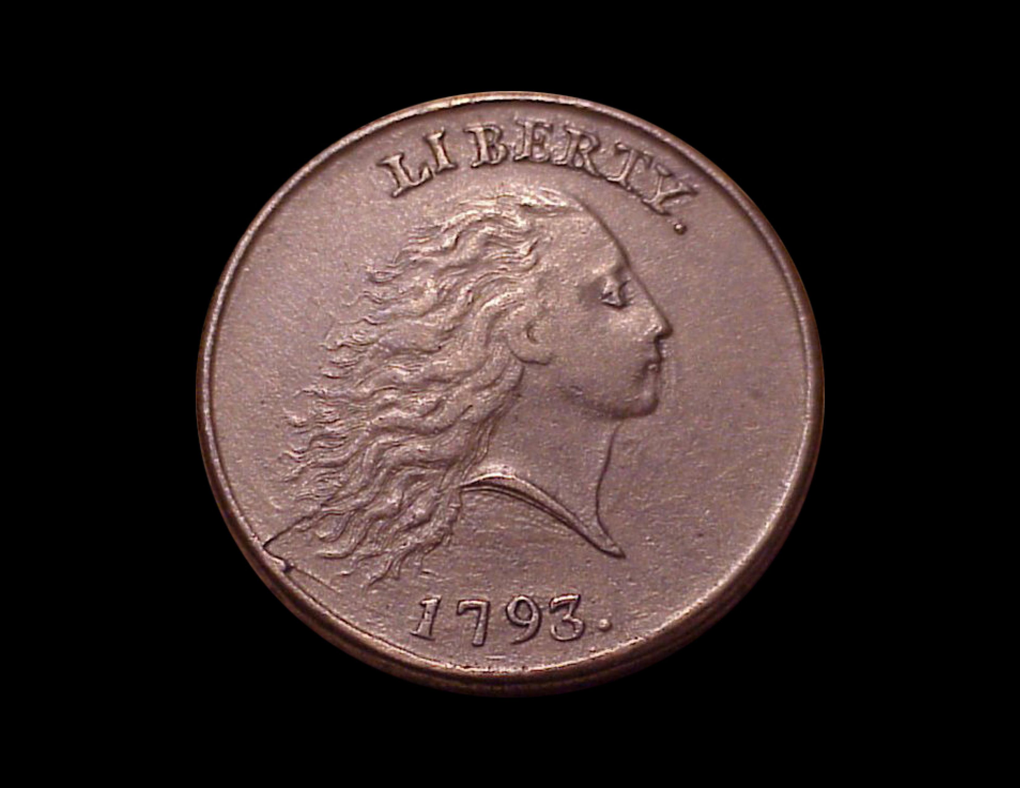 1793 1c, S-4