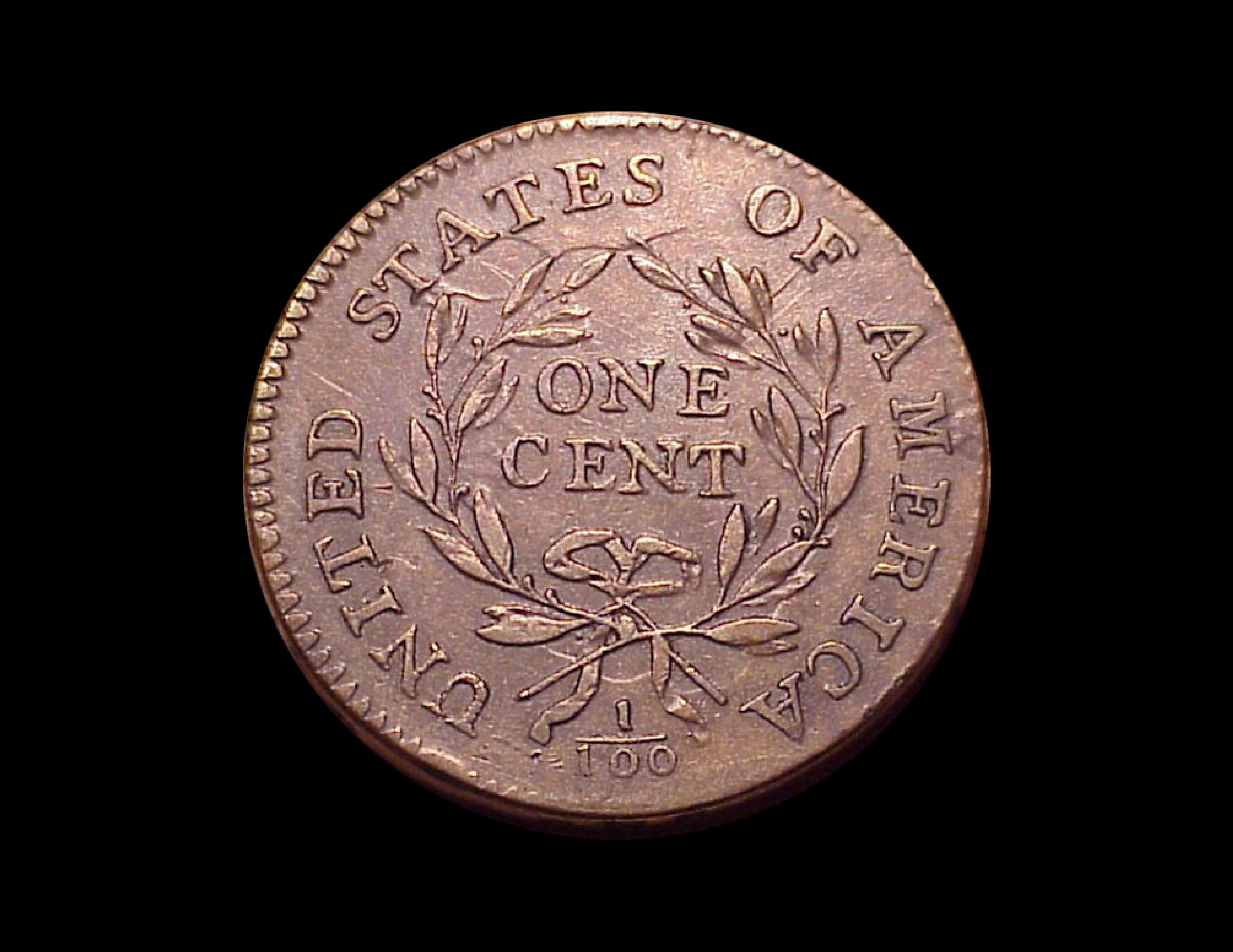 1794 1c, S-17a