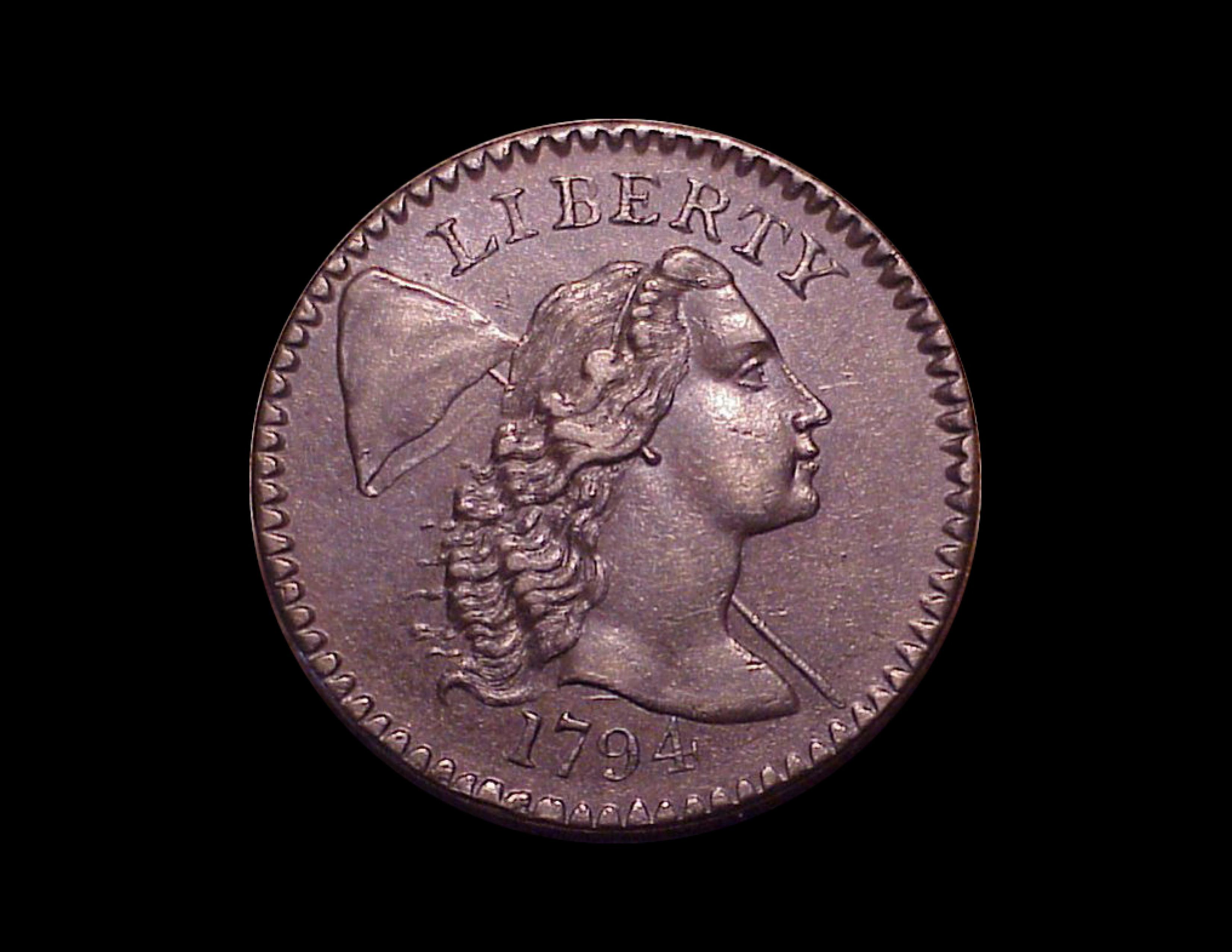 1794 1c, S-50