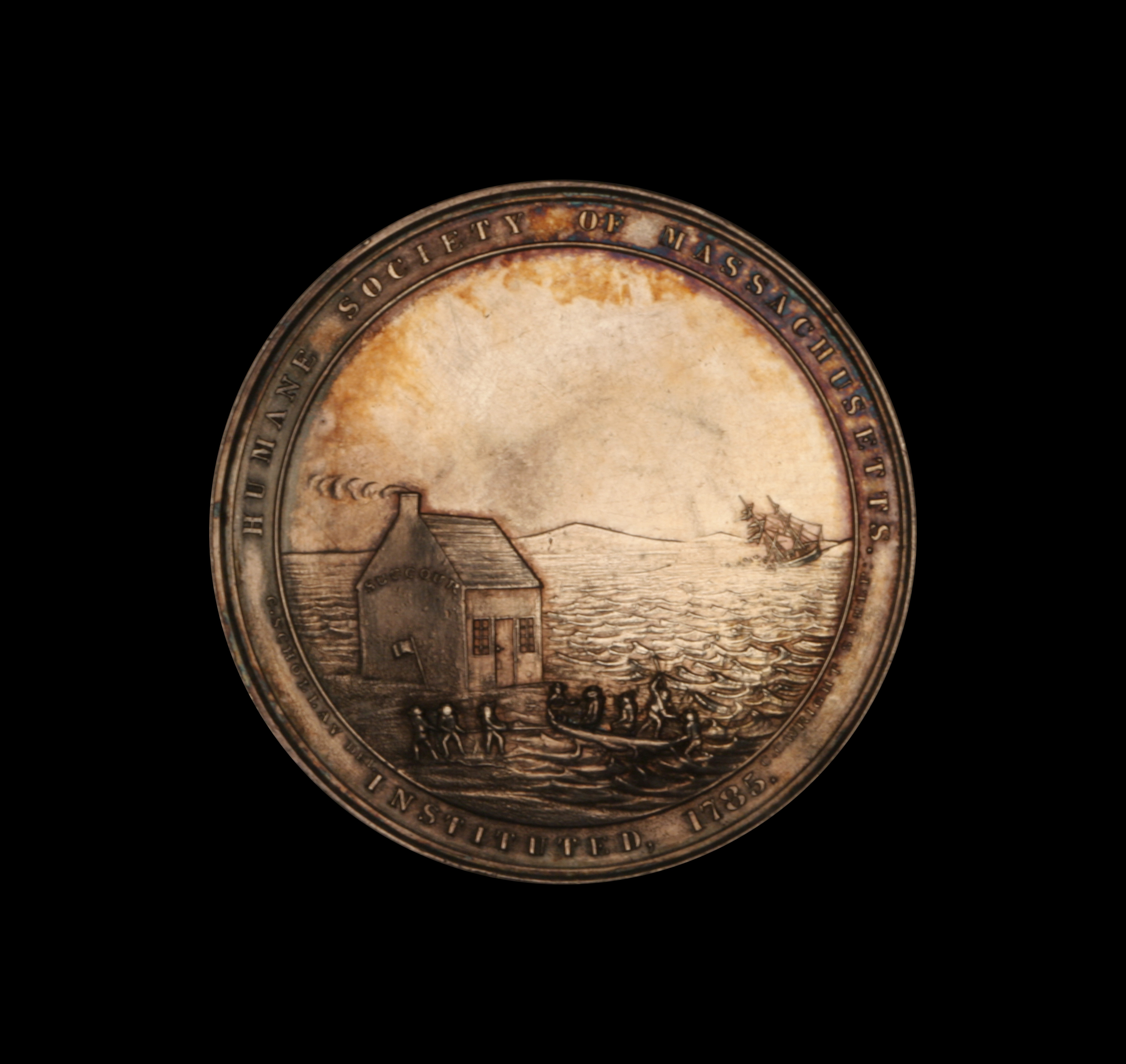 U.S. Steamship San Francisco, Lifesaving Award to John W. Marshall