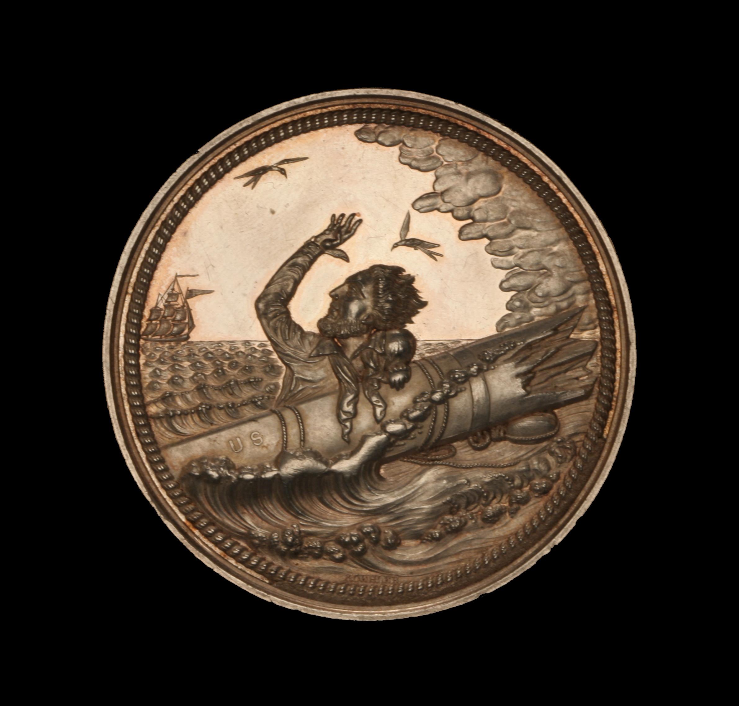 United States of America Lifesaving Medal (LS-2)