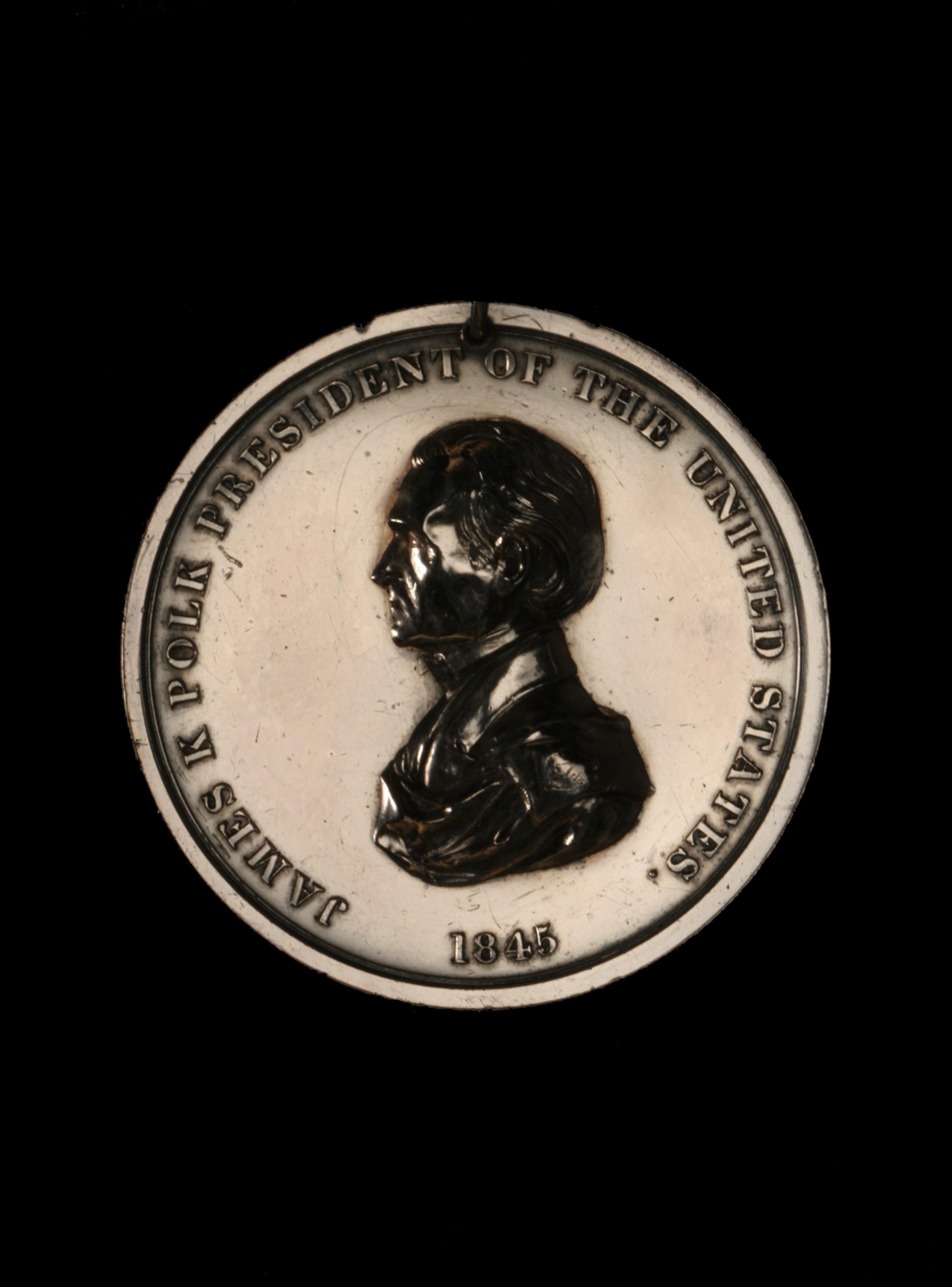 James K. Polk Indian Peace Medal