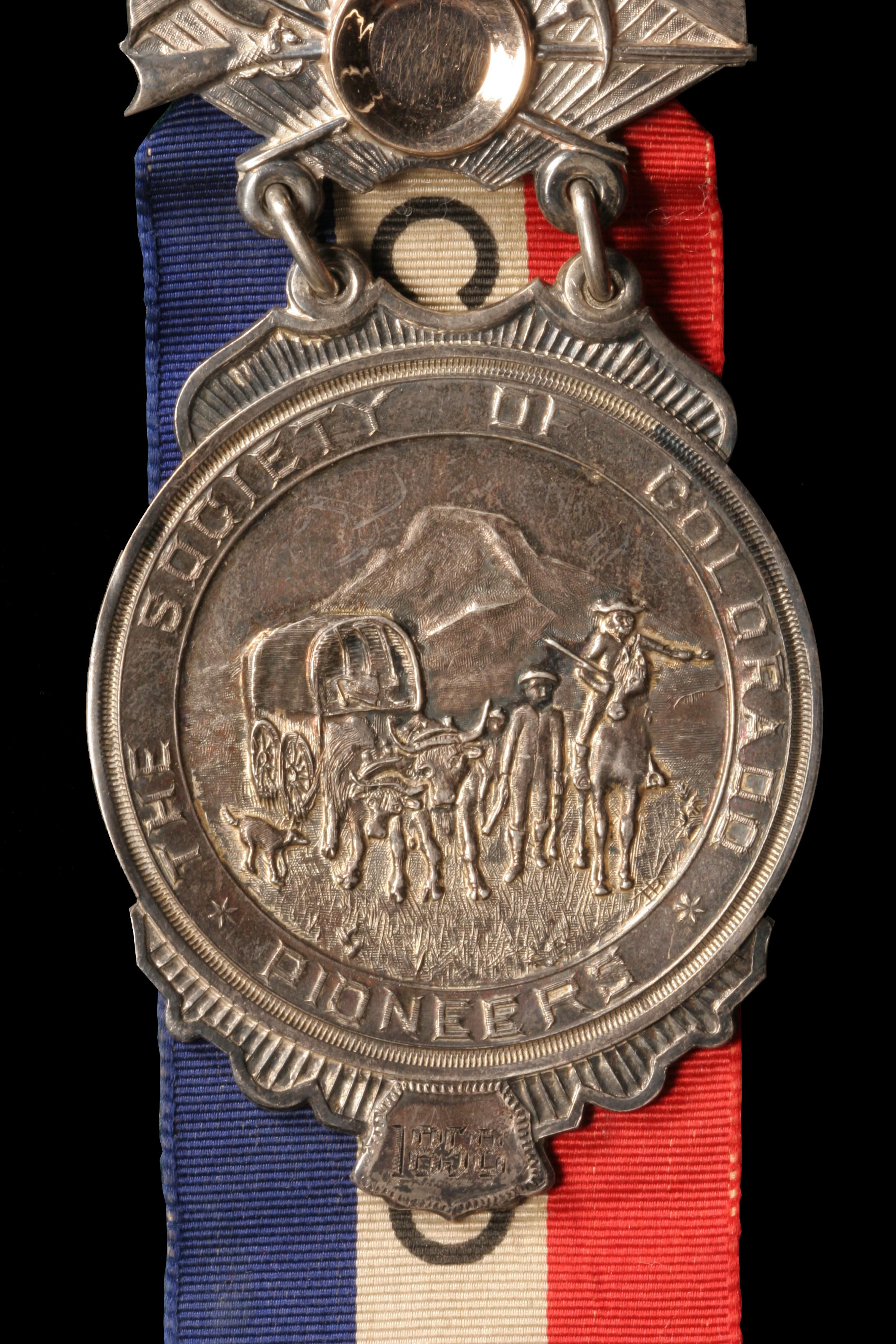 Society of Colorado Pioneers Badge