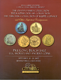 Pre-Long Beach Sale, U.S., World, and Ancient Coins