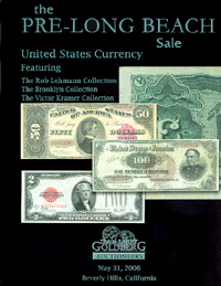 The Pre-Long Beach Sale, U.S. Currency