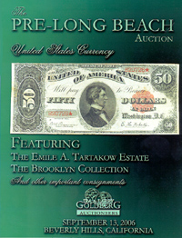 The Pre-Long Beach Sale, United States Currency