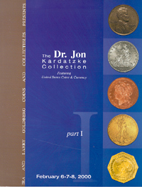 The Dr. Jon Kardatzke Collection Part I