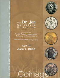 The Dr. Jon Kardatzke Collection Part III