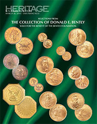 The Collection of Donald E. Bently - Bently Foundation US Coins Signature Auction