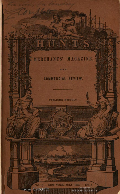 Picture of Merchant's Magazine