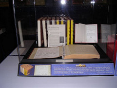 BRAILLE VERSION OF 1969 REDBOOK EXHIBITED IN ATLANTA