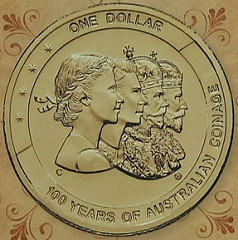 ROYAL AUSTRALIAN MINT STRIKES CENTENNIAL COIN