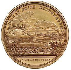 JAMES MEASE, GEORGE WASHINGTON AND ANTHONY WAYNE'S STONEY POINT MEDAL