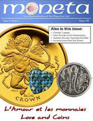 NEW JOURNAL: MONETA (OTTAWA COIN CLUB)