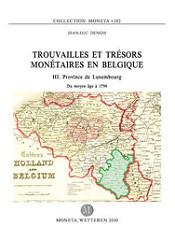 TROUVAILLES ET TRESORS MONETAIRES EN BELGIQUE VOLUMES PUBLISHED
