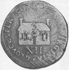 ANOTHER EARLY FIVE-POINTED STAR ON A U.S. COIN