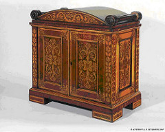 MORE ON COIN CABINETS AND WOOD AS A STORAGE MATERIAL
