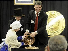 MILLARD FILLMORE PRESIDENTIAL DOLLAR COIN LAUNCH CEREMONY