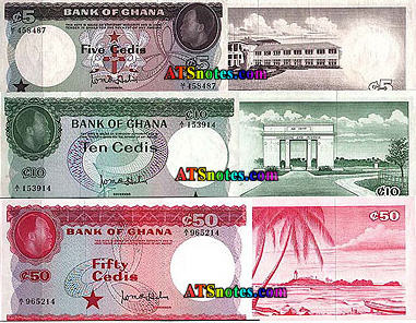 FEATURED WEB PAGE: GHANA BANKNOTES
