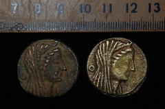 EGYPT FINDS HOARD OF 2,000-YEAR-OLD BRONZE COINS