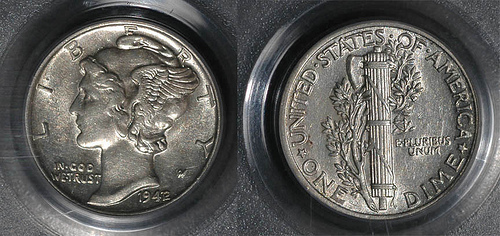 MORE ON THE 1942/41 OVERDATE DIMES