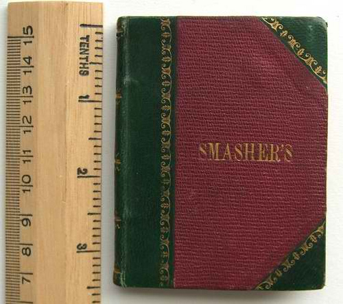BOOK: SMASHERS: PHOTOGRAPHS OF VICTORIAN COUNTERFEITERS