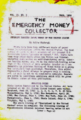 THE EMERGENCY MONEY COLLECTOR, VOL. 2 NO. 3