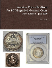 NEW BOOK: AUCTION PRICES REALIZED FOR PCGS-GRADED GERMAN COINS
