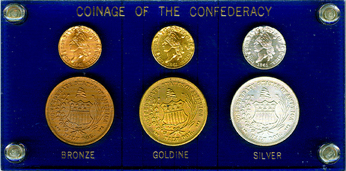 QUERY: BASHLOW CONFEDERATE COIN RESTRIKE SIX-COIN SETS